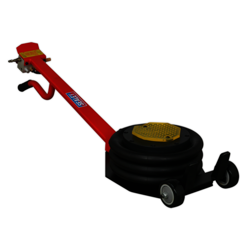 Premier Air Operated Fast Jack 3tonne Three Stage - Long Handle - Sealey - PAFJ3