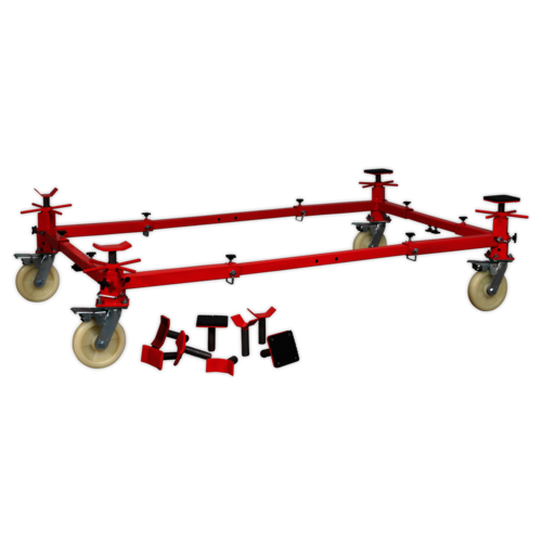 Vehicle Moving Dolly 4 Post 900kg - Sealey - VMD002