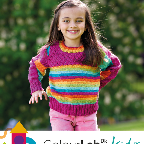 Colour Lab Kids Pattern Book
