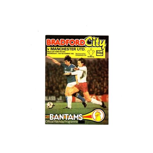 Manchester United Away Football Programmes