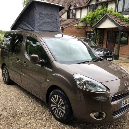 2012 Peugeot Partner Tepee 1.6TD Camper Day Van AUTOMATIC - ONLY 35983 Miles