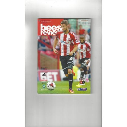 2014/15 Brentford v Reading Football Programme