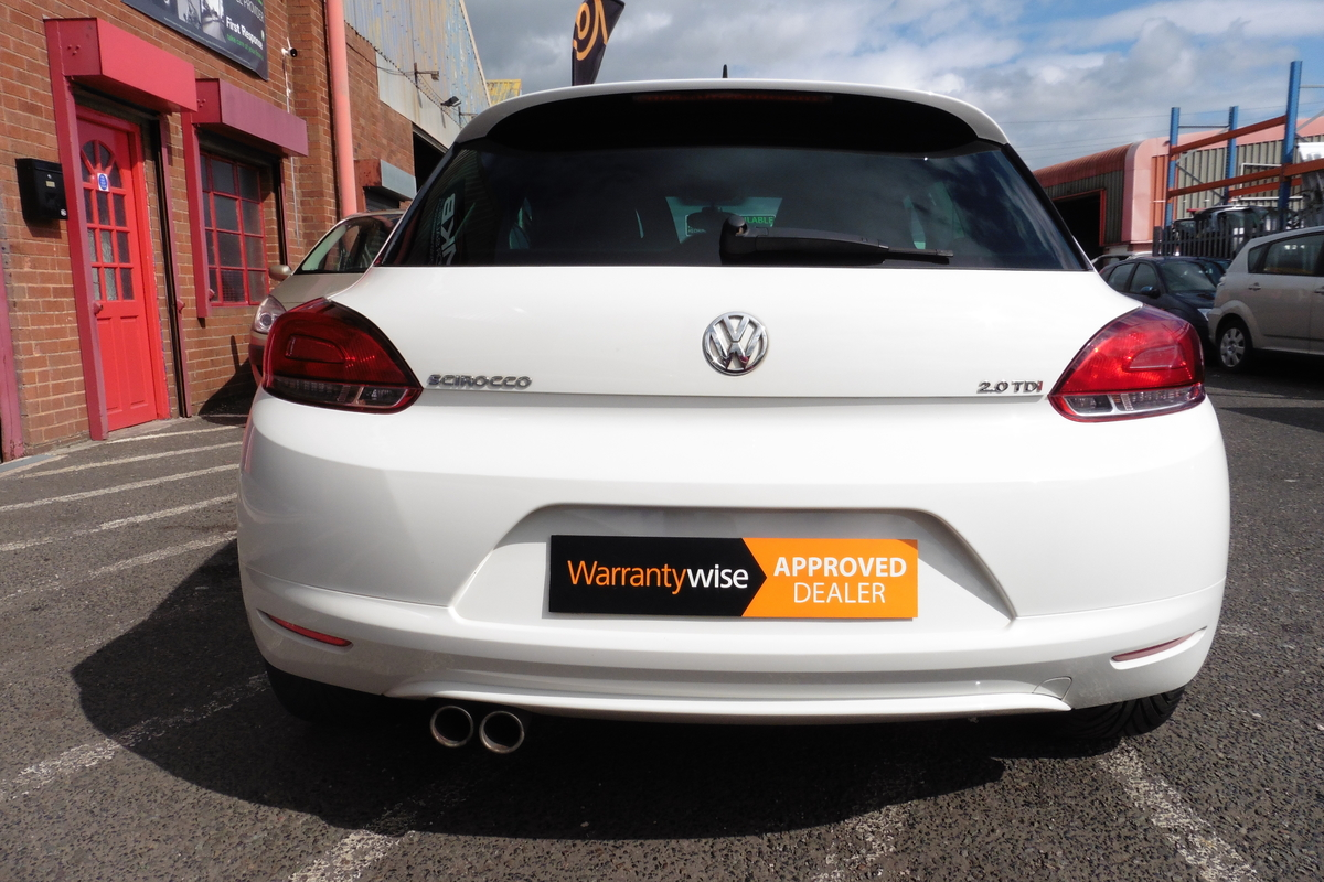 Volkswagen Scirocco 2.0 TDI CR GT 3dr - Full Service History - 170 BHP