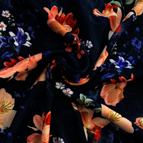 Dreamy Florals Polyester