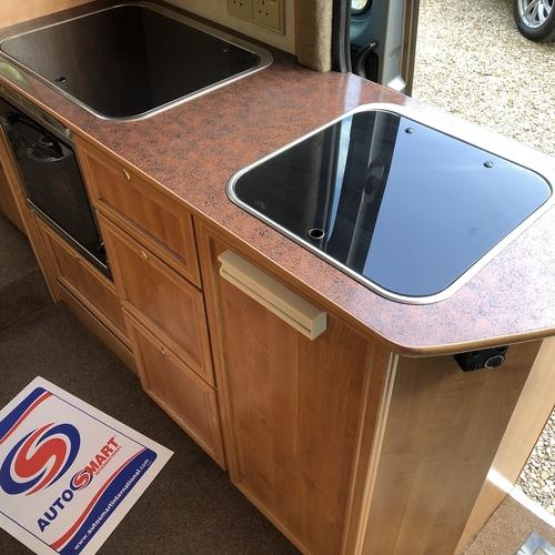 Renault Master T35 LWB 2.5D Camper Van PRO Conversion Rear U Shape Lounge