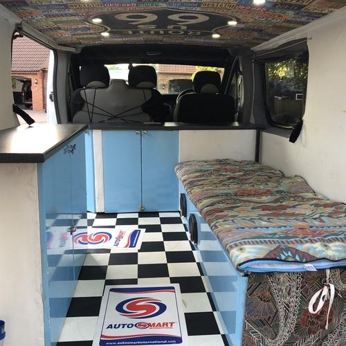 Vauxhall Vivaro 1.9 DTi SWB Camper Van 2 Berth 2004(54)reg - BARGAIN P/EX TO CLEAR