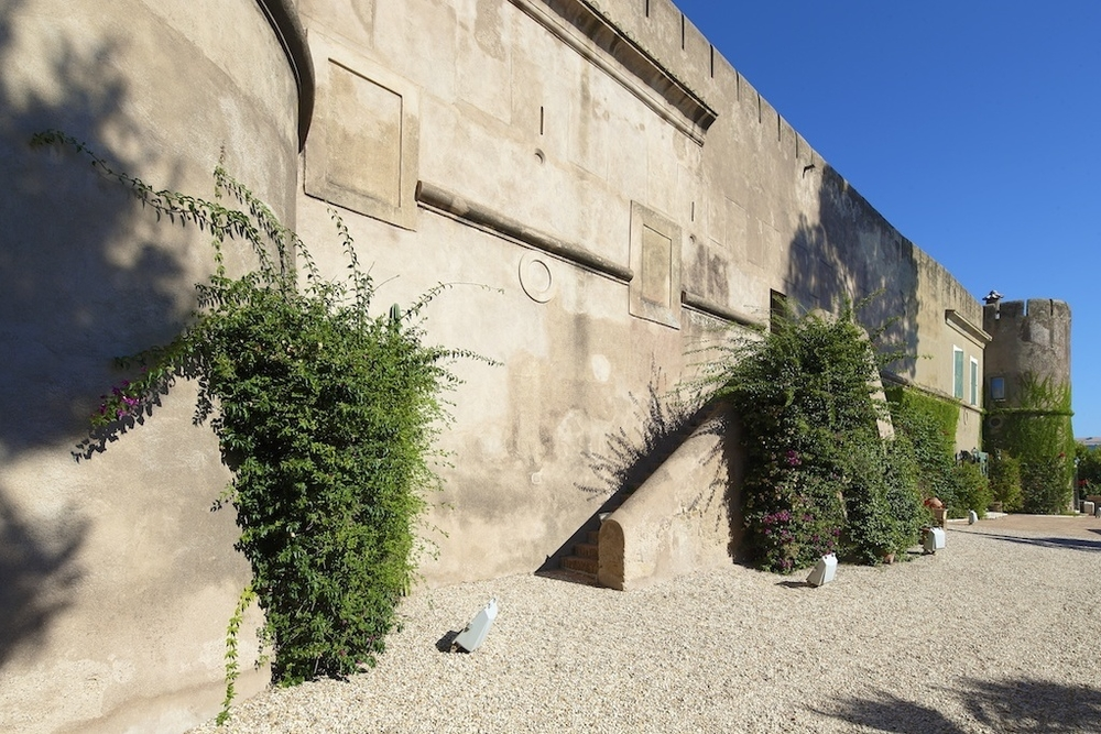 Castle on the Mediterranean