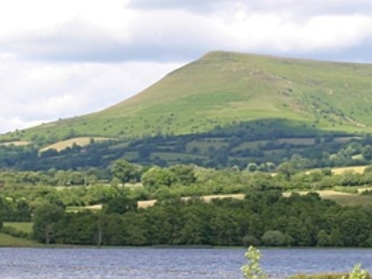 Brecon Beacons and Llangors Lake, Wales: By Gentle Waters