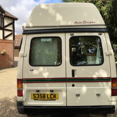 Auto Sleeper Duetto Camper Van 2 Berth - 1998 Ford Transit 2.5TD - BARGAIN £9995