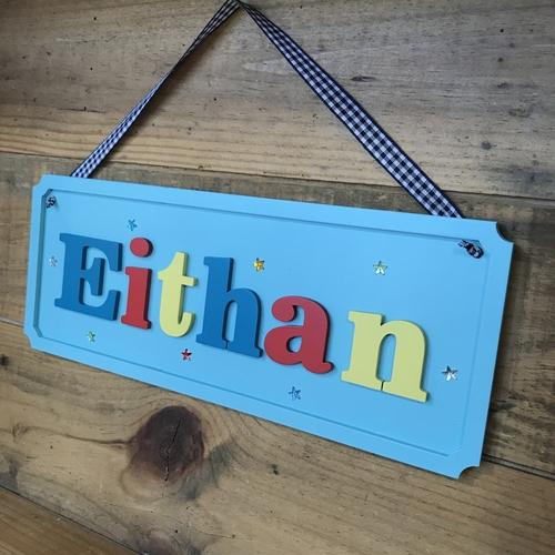 Large Children's door plaque