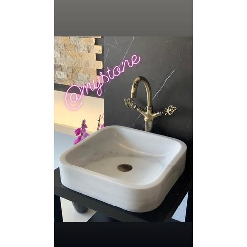 Carrara Marble Wash Basin