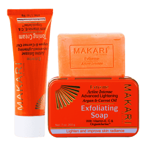 MAKARI EXTREME CARROT & ARGAN CREAM + SOAP