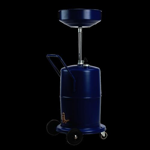 Mobile Oil Drainer 75ltr Pump Away - Sealey - AK450DX
