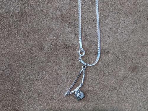 Berimbau Pendant Necklace