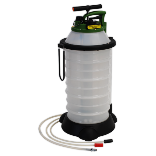 Vacuum Oil & Fluid Extractor & Discharge 18ltr - Sealey - TP6906