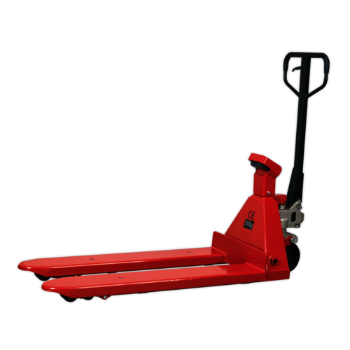 Pallet Truck 2000kg 1150 x 555mm with Scales - Sealey - PT1150SC