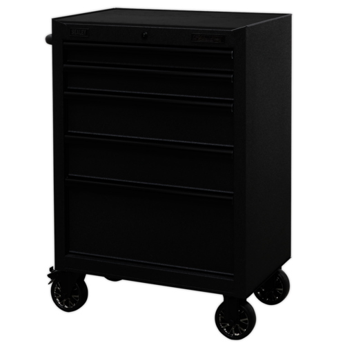 Rollcab 5 Drawer 680mm with Soft Close Drawers - Sealey - AP2705BE