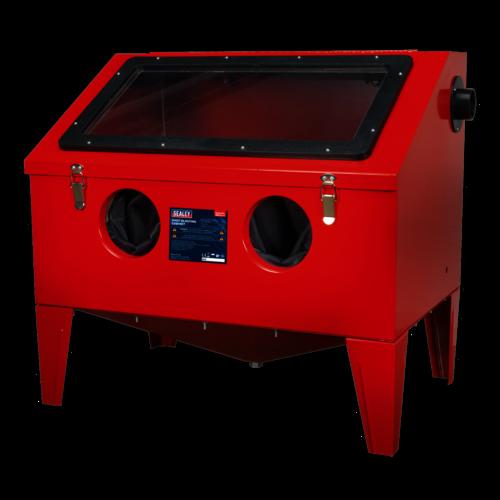Shot Blasting Cabinet 760 x 510 x 715mm - Sealey - SB972