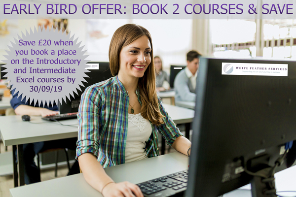 Early Bird Offer on Microsoft Excel Courses