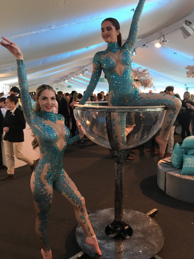 Matching Giant Martini Glass Performers Dancers Entertainment Events UK GMODELS