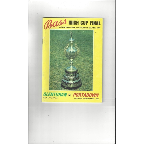 Northern Ireland Cup / Gold Cup Finals Football Programmes