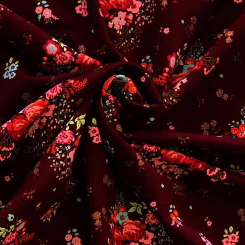Glitz Floral Berry Jersey