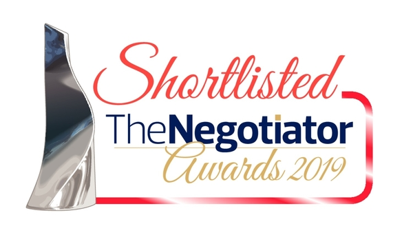 Glow are Shortlisted for The Negoitator Awards!