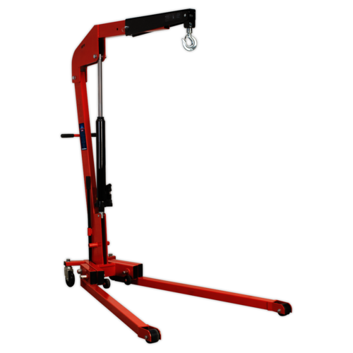 Folding Engine Crane 1tonne - Sealey - SPC1000