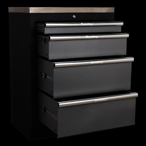 Modular 4 Drawer Cabinet 680mm - Sealey - APMS51