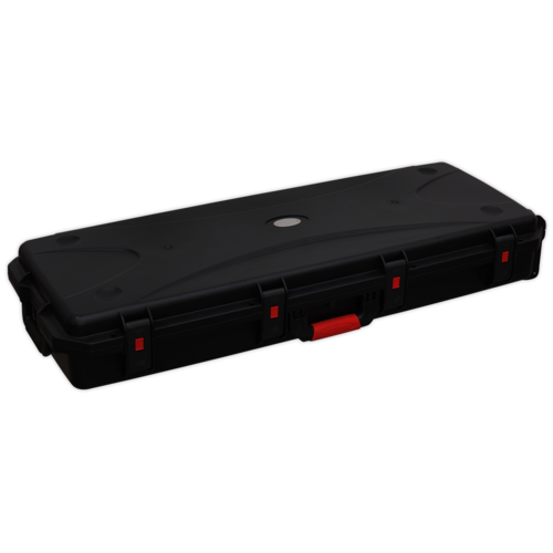 Portable Gun Case Water Resistant Professional 1150mm - Sealey - AP628