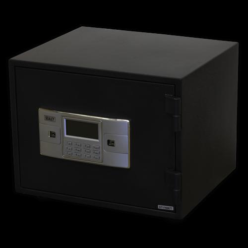 Electronic Combination Fireproof Safe 420 x 350 x 330mm - Sealey - SCFS01