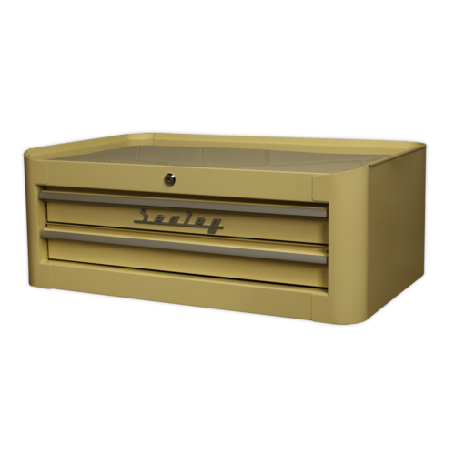 Mid-Box 2 Drawer Retro Style - Sealey - AP28102