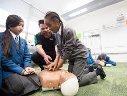 NEWS ~  First Aid to be added to School Curriculum