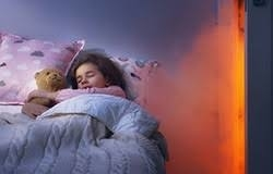 NEWS ~ Most children likely to sleep through smoke alarms!