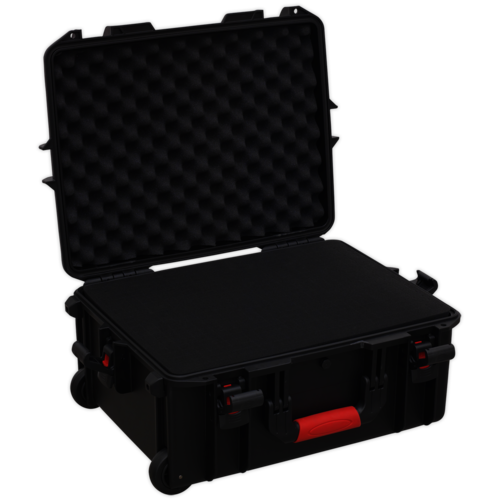 Professional Water Resistant Storage Case with Extendable Handle - 550mm - AP626