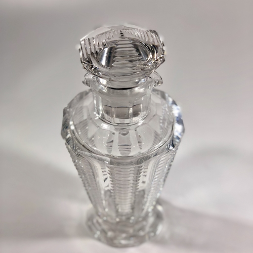 Finest cut crystal cocktail shaker decanter