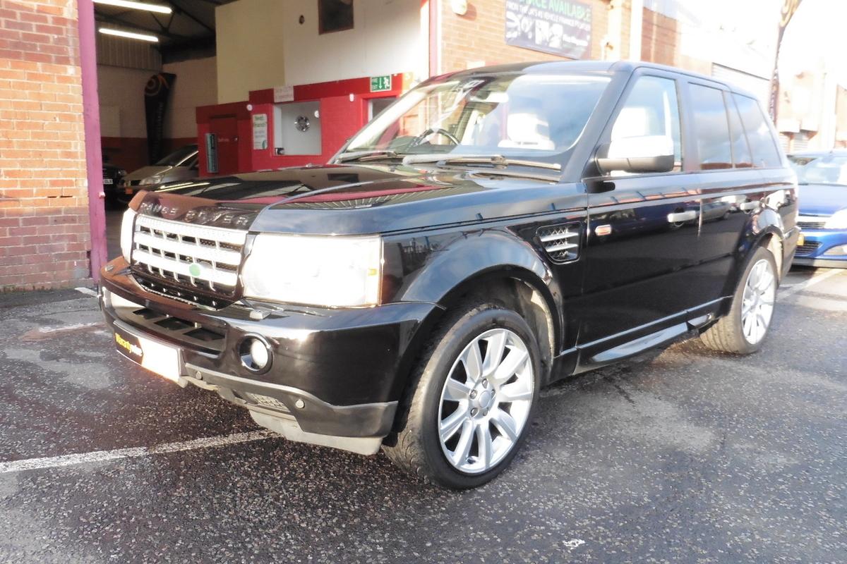 Land Rover Range Rover Sport 2.7 TD V6 HSE 5dr - Sat Nav - Full Leather Interior!