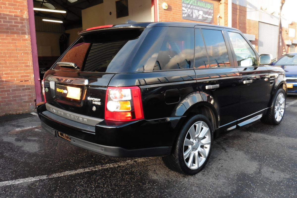 Land Rover Range Rover Sport 2.7 TD V6 HSE 5dr - Sat Nav - Full Leather Interior!