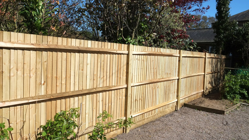 Fencing & turfing