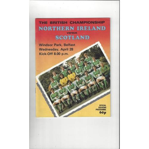 Ireland Home Football Programmes
