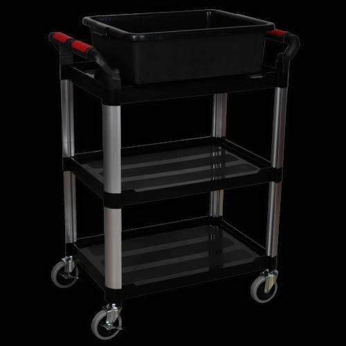 Workshop Trolley 3-Level Composite - Sealey - CX309