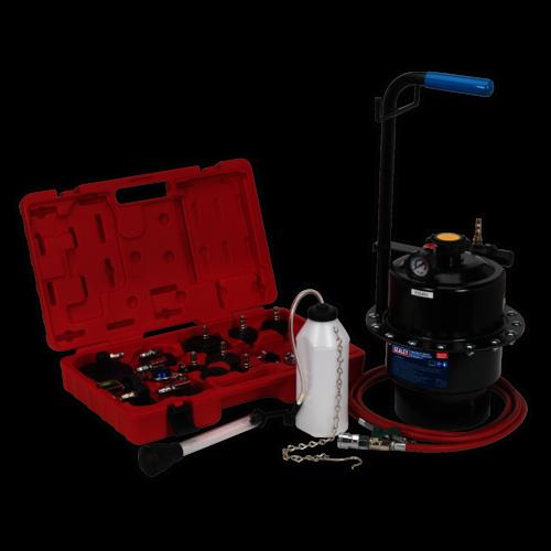 Pneumatic Brake & Clutch Pressure Bleeder Kit - Sealey - VS0204