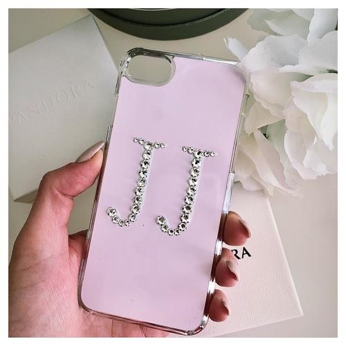 Swarovski Crystal Initials Phone Case