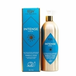 Fair & White Intense Power Perfect Tone Brightening Lotion with Snail Slime 17.6 oz