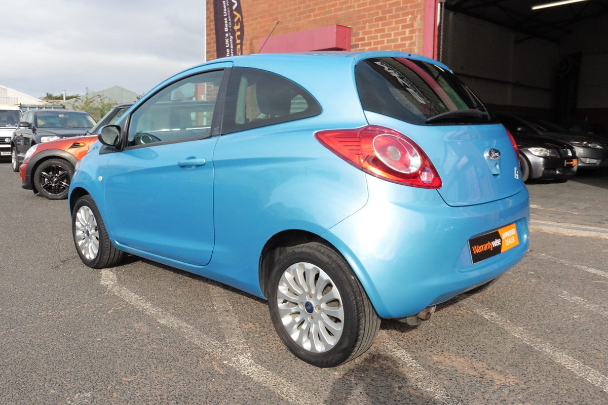 Ford Ka 1.2 Zetec (s/s) 3dr - Cheap To Insure - Cheap To Tax!