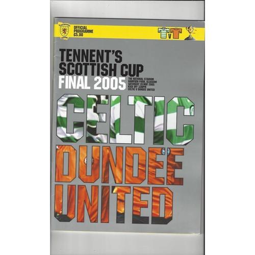 Scottish Cup Final Football Programmes