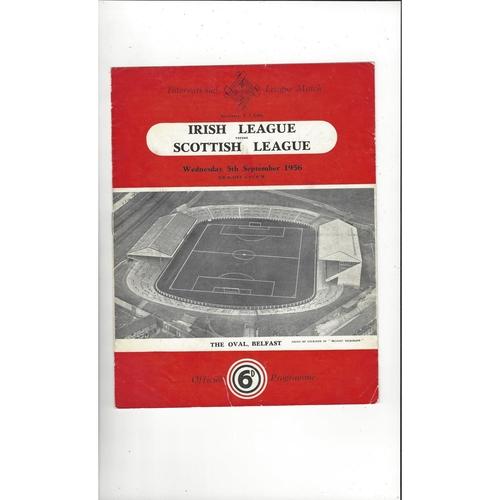 Inter League Football Programmes