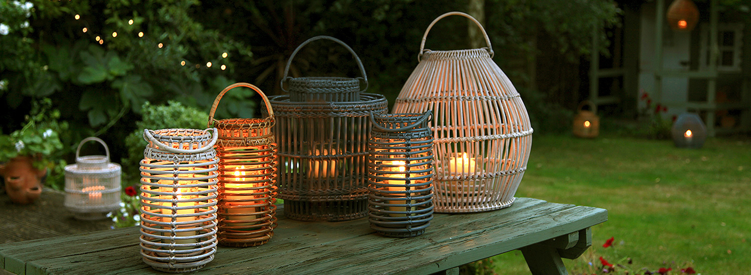 Natural Handmade Rattan Baskets & Home Accessories from Burma