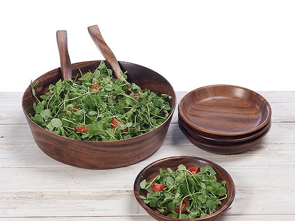 Kokko Wood Salad Bowl / Fruit Bowl