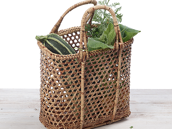 Rattan Shopping Basket/ Beach Basket / Picnic Basket